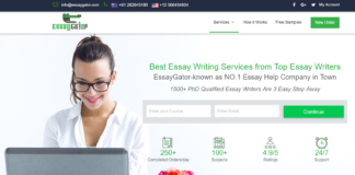 Reviewing Easygator.com Thesis and essay writing service.